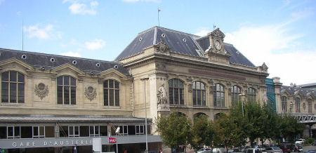 gare austerlitz Paris 13
